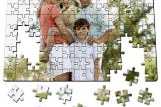 puzzle calitate foto cu poza ta imprimata pe el