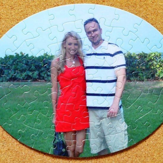puzel forma ovala personalizat cu poza dumneavoastra