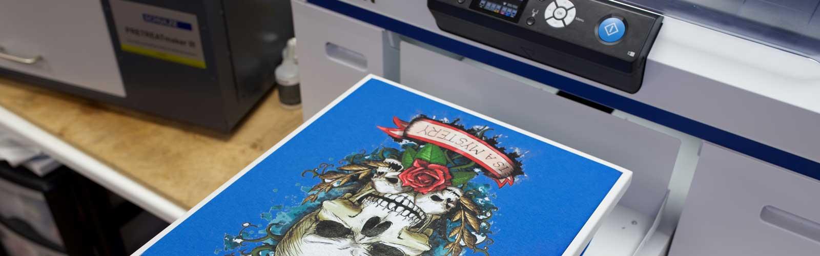 tricouri personalizate prin tehnologia dtg , printate direct in tesatura